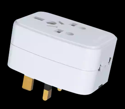 Picture of Transtec 3 Pin Travel Adapter (13 AMP)