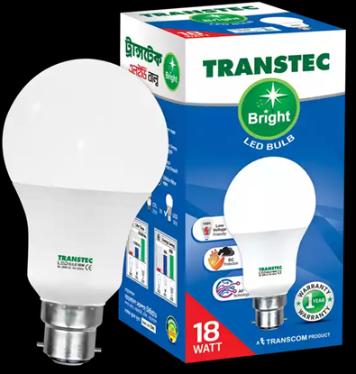 Picture of Transtec Bright CDL LED Bulb (Screw) 18 Watt