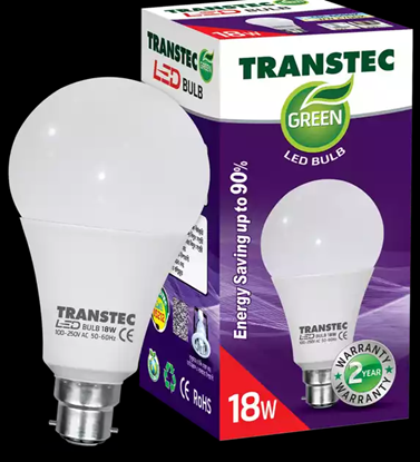 Picture of Transtec Green LED Bulb (Pin) 18 Watt