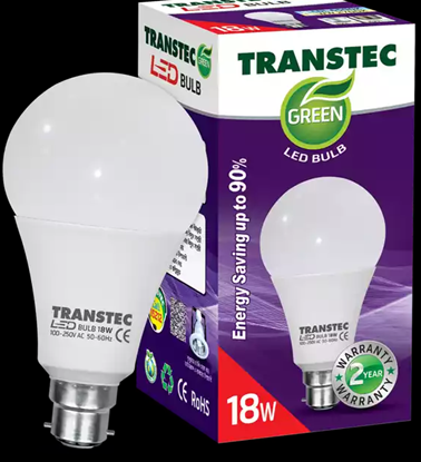 Picture of Transtec Green CDL LED Bulb (Screw) 18 Watt