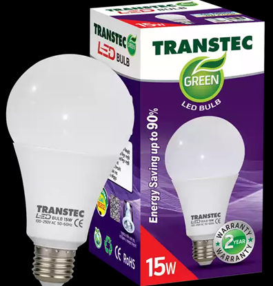 Picture of Transtec Green CDL LED Bulb (Screw) 15 Watt