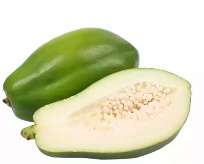 Picture of Green Papaya (Net Weight ± 50 gm) 1kg