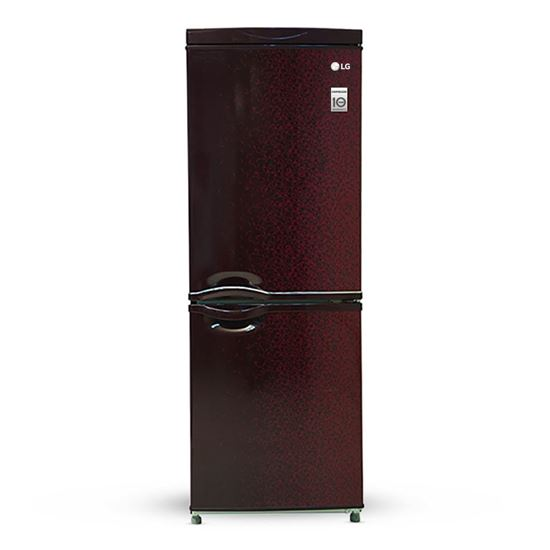 Picture of LG FROST REFRIGERATOR 227 LITER-WINE CRYSTAL LG GC-269VP(WINE CRYSTAL)