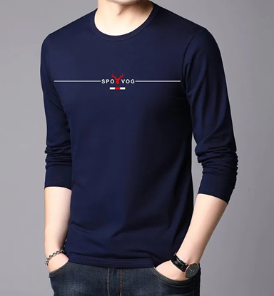 Picture of Stylish Long Sleeve T- Shirt For Men