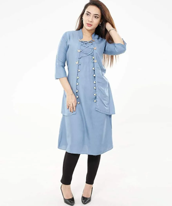 Picture of New Exclusive Hot Kurti For Stylish Women