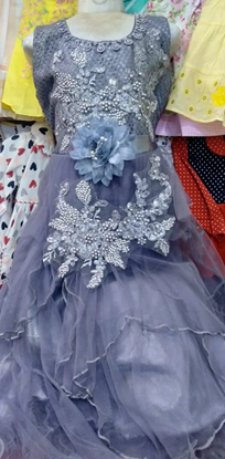 Picture of Kids Party Frock 003 - 11 Yrs