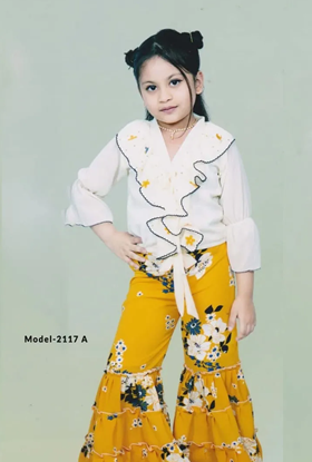 Picture of Kid's Exclusive Fashionable Dress - 2117-A