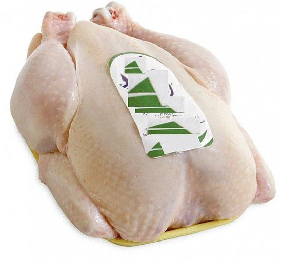 Picture of Broiler Chicken Skin on