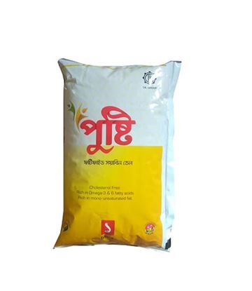 Picture of Fortified Soyabean Oil (PUSTI/RANNA)-1Ltr. (Pouch Pack)