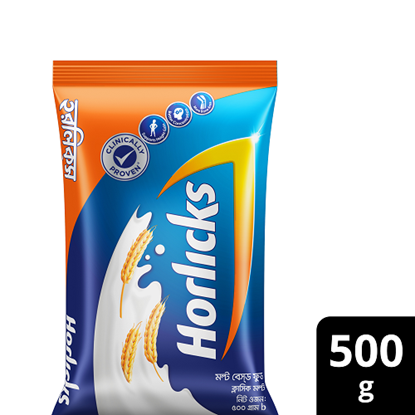 Picture of Horlicks Healthy Drink Pouch 500g