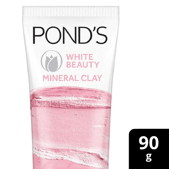 Picture of Ponds bright Beauty Mineral Clay Instant Brightness Face Wash Foam 90g