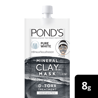 Picture of Pond's Mineral Clay Mask Pure bright D-TOXX 8g