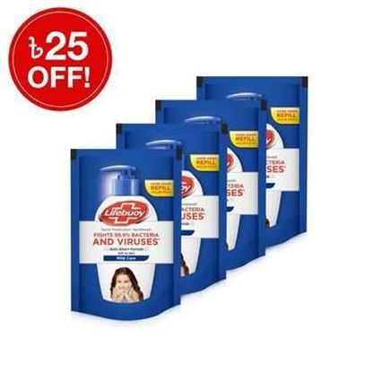Picture of Lifebuoy Handwash Care Refill 180mlX4 Multipack