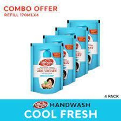 Picture of Lifebuoy Handwash Cool Fresh Refill 170mlX4 Multipack
